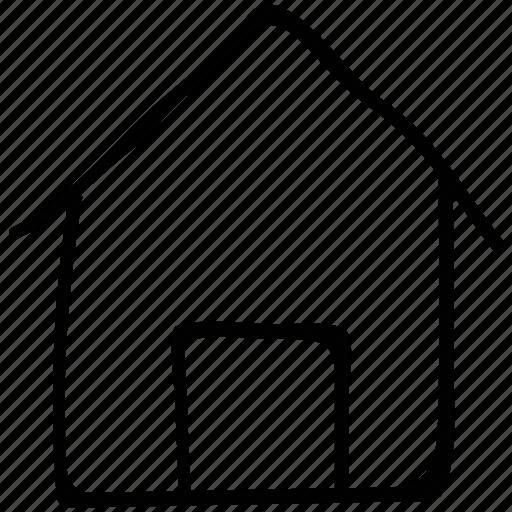hut, real estate, shack, villa icon