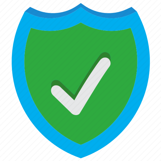 accept, antivirus, check, protection, safety, security ok, shield icon