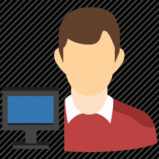 account, admin, administrator, manager, person, profile, user icon