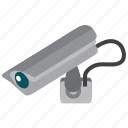 camera, cctv, guard, protection, secure, security, video icon