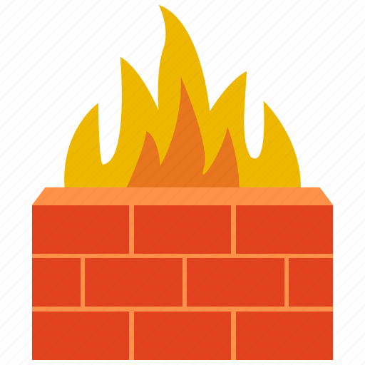 antivirus, fire, firewall, protect, protection, security, shield icon