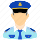 guard, officer, police, policeman, protection, safety, security icon