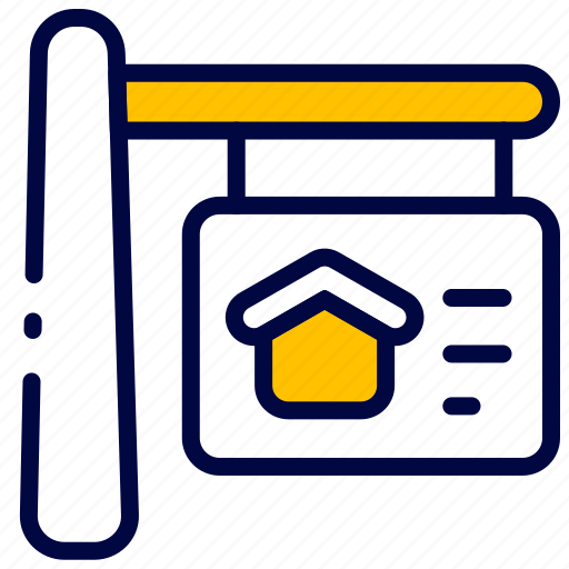 Bukeicon, estate, home, house, property, real, sale icon - Download on Iconfinder