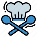 chef, cook, food, restaurant icon