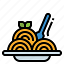 food, noodle, pasta, restaurant, spaghetti icon