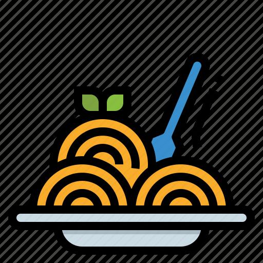 food, noodle, pasta, restaurant, spaghetti icon
