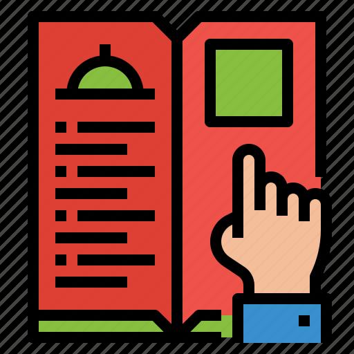 food, menu, restaurant, service icon