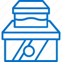 boxes, design, goods, packaging, packing, product, wrapping icon
