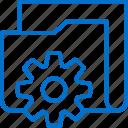 equipment, folder, gear, resource, service, tech, technology icon