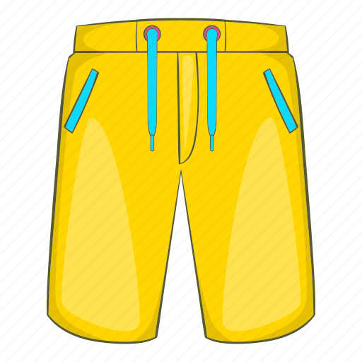 Beach, breeches, cartoon, holiday, sand, summer, travel icon - Download on Iconfinder
