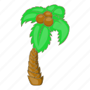 beach, cartoon, holiday, palm, summer, travel, tree icon