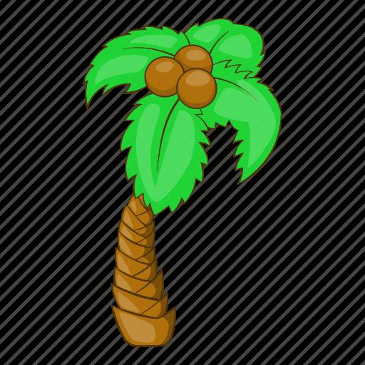 beach, cartoon, holiday, palm, summer, travel, tree icon
