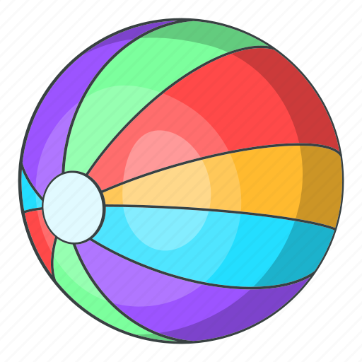 Ball, beach, cartoon, holiday, sand, summer, travel icon - Download on Iconfinder