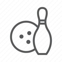 ball, bowling, pin, sport icon