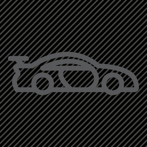 car, racing, vehicle icon