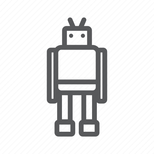 robot, toy icon