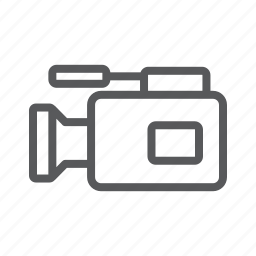 camera, movie, video icon