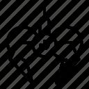 claw, manipulator, thin, vector, yul905 icon