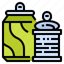 can, drinking, metal, recycle, recycling, softdrinks, water icon
