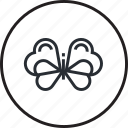 animal, butterfly, environment, line, nature, recycling icon