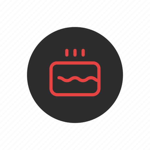 Anniversary, birthday, cake, candles, celebration, party icon - Download on Iconfinder