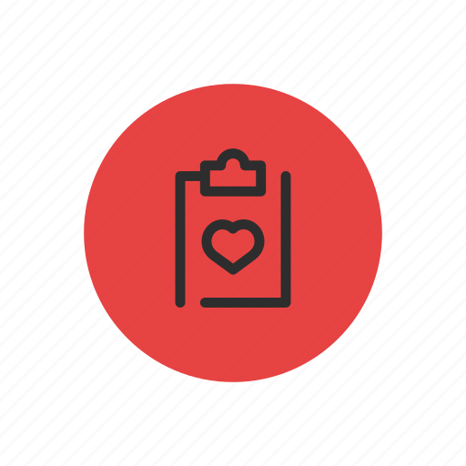 cardio, chart, clipboard, health, healthcare, medical, results icon