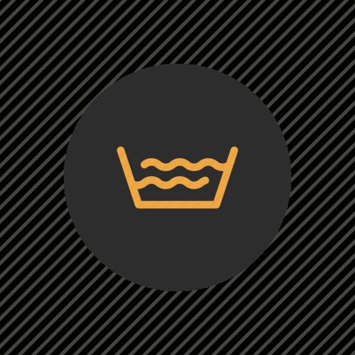 basin, bowl, laundry, wash, washing, water icon