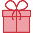 box, christmas, gift, give, present, winter, xmas icon