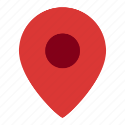 gps, location, map, pin, place icon