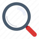 find, loupe, magnifying, magnifying glass, search, searching icon