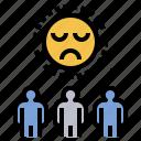 bewail, depress, grief, sad, sorrow icon