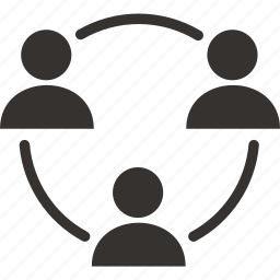 clients, office, relationship, team, users, work icon icon