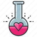 chemistry, compatibility, heart, love, relationship icon