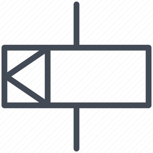 ele837 512 circuit, diagram, electric, electronic, mechanical interlock, relay