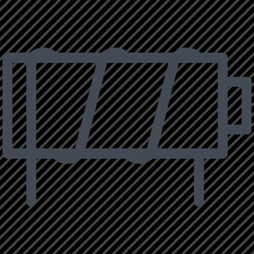 circuit, diagram, electric, electromagnet, electronic icon