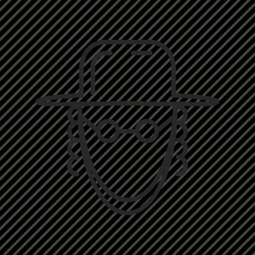avatar, jewish, man, people, person, priest, religion icon
