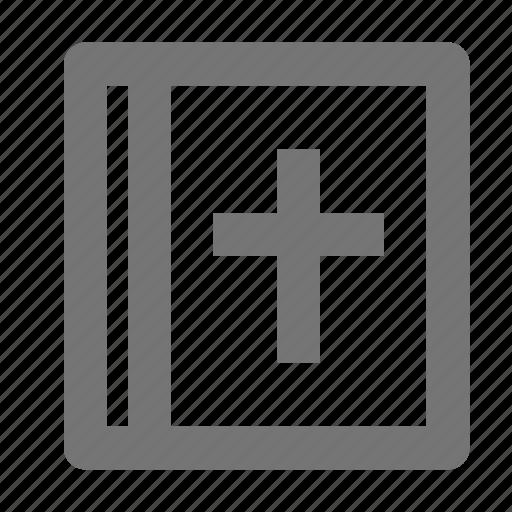 bible, religion icon