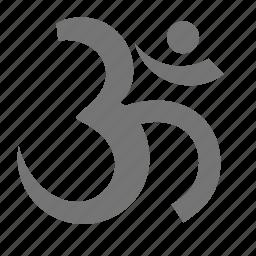 hinduism, religion icon