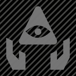 egypt, eye, religion, share icon