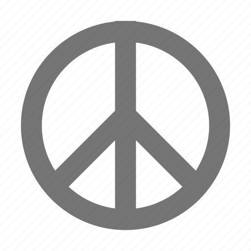 peace, sign icon