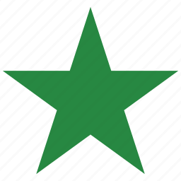 favorite, green, premium, rate, rating, star icon