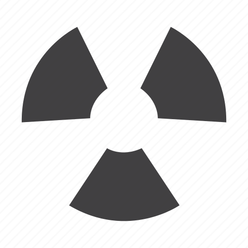 atomic, danger, nuclear, radiation, radioactive, radioactivity, war icon