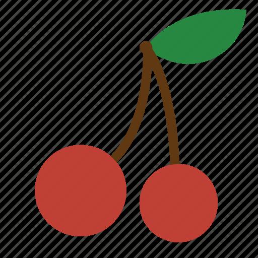 berries, berry, cherry, fruit, redcherry, vegetable icon