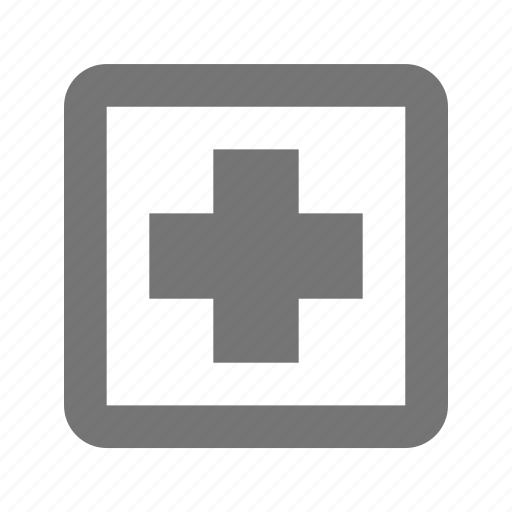 add, append, create, new, plus, positive, square icon