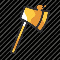 axe, construction, equipment, tool, tools icon