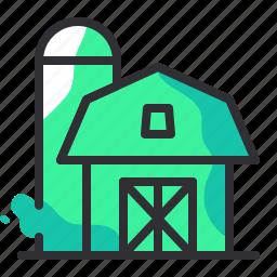 agriculture, barn, farm, farmer, farming, gardening icon