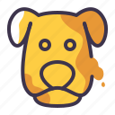 animal, cute, dog, mammal, pet, petshop icon