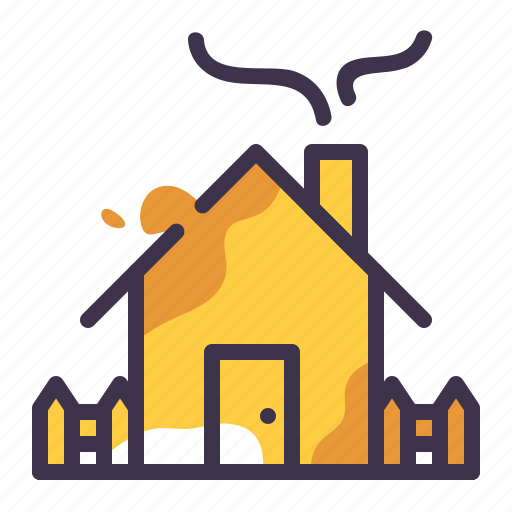 architecture, construction, estate, farm, house, property icon