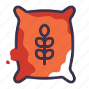 bag, case, farming, food, grain, grains icon