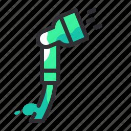 drink, hose, liquid, spray, water icon